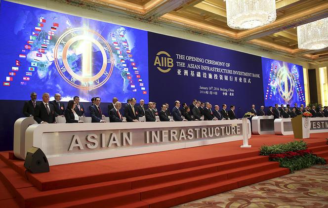 Lancement de la banque asiatqiue d'investissement AIIB