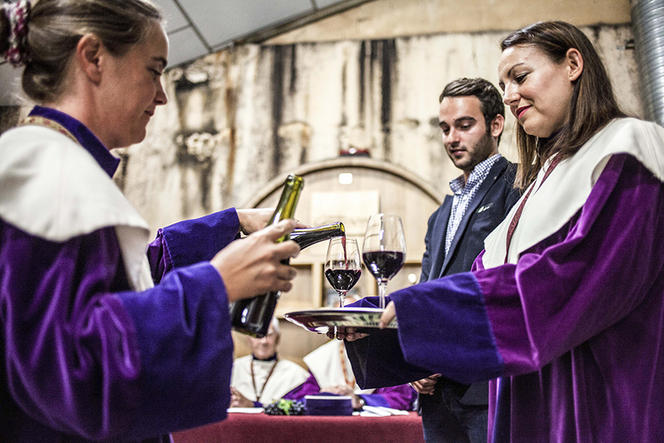 Saison des vendanges a Chateauneuf du Pape
