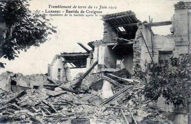 FRANCE-SEISME-HISTOIRE-ENVIRONNEMENT