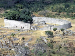Great Zimbabwe, Site Of Former Capital, Dating From 13Th Century